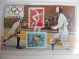 bloc timbre sport  Jocurile Olimpice JO nestampilate