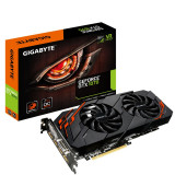 Placa video gaming GIGABYTE GTX 1070 Windforce OC 8GB GDDR5 256-bit GARANTIE, PCI Express, 8 GB, nVidia