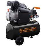 Compresor Black+Decker 24L - BD 205/24, Black + Decker