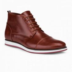 Pantofi inalti barbati - T326-maro-deschis