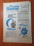 programul loto pronosport 25 februarie 1986