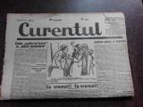 Ziarul Curentul , director Pamfil Seicaru , 22 aprilie nr.1874/1933