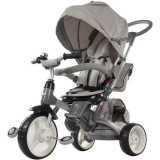 Cumpara ieftin Tricicleta cu sezut reversibil Sun Baby 007 Little Tiger - Grey