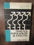 Genetica populațiilor și evoluția - Lawrence E. Mettler, Thomas G. Gregg