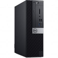 Sistem desktop Dell OptiPlex 5070 SFF Intel Core i7-9700 16GB DDR4 256GB SSD Windows 10 Pro 3Yr NBD Black