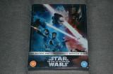 Film: Star Wars: Episode IX - The Rise of Skywalker 4K Steelbook [3 Discuri] UK, BLU RAY, Engleza, disney pictures
