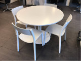 Set masa rotunda DOCKSTA cu scaune JANINGE - IKEA