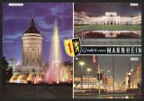 GERMANIA - COLAJ GRUSSE AUS MANNHEIM - AM WASSERTURM - COLAJ
