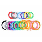 Set 10 filamente universale pentru creion 3D, multicolor