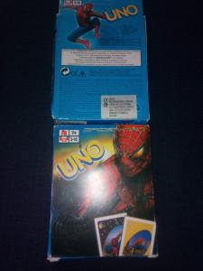 Joc de carti UNO Spiderman