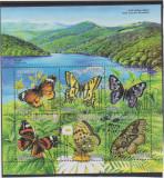 AZERBAIJAN  2002 FLUTURI    Bloc cu 6 timbre  Mi.Bl50  MNH**