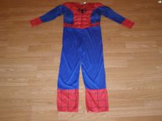 costum carnaval serbare spiderman pentru copii de 9-10 ani foto