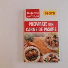 PREPARATE DIN CARNE DE PASARE RETELE LUI COLEA 2007