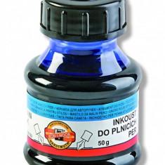 Cerneala pentru stilou Koh I Noor 50 ml albastra