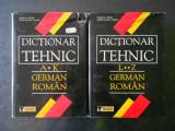 WILHELM THEISS - DICTIONAR TEHNIC GERMAN-ROMAN  2 volume, 210.000 de termeni
