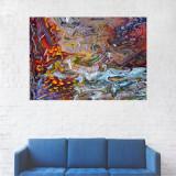 Tablou Canvas, Abstract, Multicolor - 40 x 60 cm