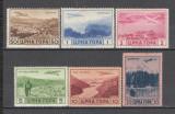 Italia.1943 OCUPATIA IN MUNTENEGRU:Posta aeriana-Vederi  KI.67, Nestampilat