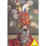Cumpara ieftin Puzzle Piatnik - 1000 de piese - Monet - La Japonaise