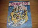 ALMANAHUL  COPIILOR  1986  (format mare, ilustratii, benzi desenate, poezii,etc)