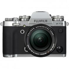 Aparat foto Mirrorless Fujifilm X-T3, 26 MP, 4K, Argintiu + Obiectiv XF 18-55 mm