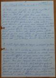 Manuscris Coca Andronescu , 4 pagini