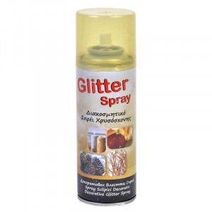 Spray zapada artificiala cu sclipici Snow Time, 250 ml