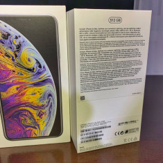 Apple Iphone XS Max, Silver, 512Gb, neverlocked. Impecabil!