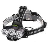 Lanterna frontala cu acumulator T6 XPE