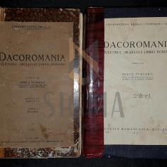 SEXTIL PUSCARIU - DACOROMANIA, BULETINUL MUZEULUI LIMBII ROMANE, ANUL IV, DOUA PARTI