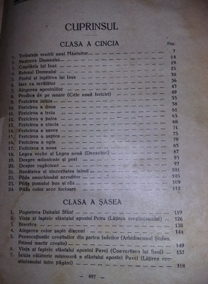 Carte,Hristos in scoala,Dumitru Calugar,1934,manual ortodox,vol 2,transp.GRATUIT foto