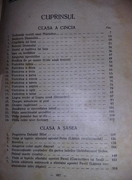 Carte,Hristos in scoala,Dumitru Calugar,1934,manual ortodox,vol 2,transp.GRATUIT