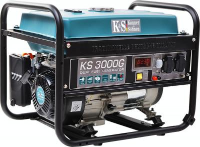 Generator curent KS 3000G Könner & Söhnen, 3.0 kW, GPL /benzina foto