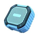 Boxa portabila pentru exterior Akai, 5 W, 800 mAh, Bluetooth 4.1, 10 m, jack 3.5 mm, acumulator, Albastru