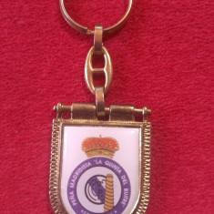 Breloc fotbal metalic (vechi) - REAL MADRID