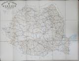 ROMANIA - HARTA DRUMURILOR