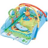Centru de joaca cu laterale protectoare Safari - Sun Baby + si sampon copii Angels