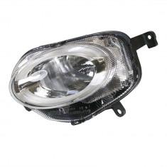 Far Fiat 500, 07.2015-, Stanga, tip bec H7, cu lumina pozitie LED, cu lumini de zi, far faza lunga ECE, AL (Automotive Lighting) 52007767,