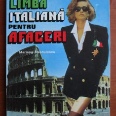 Limba Italiana pentru afaceri , Mariana Sandulescu