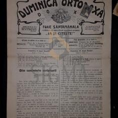POPESCU-MALAESTI I. (PREOT), DUMINICA ORTODOXA, ANUL XI, Numerele 49-50, 1929, Bucuresti