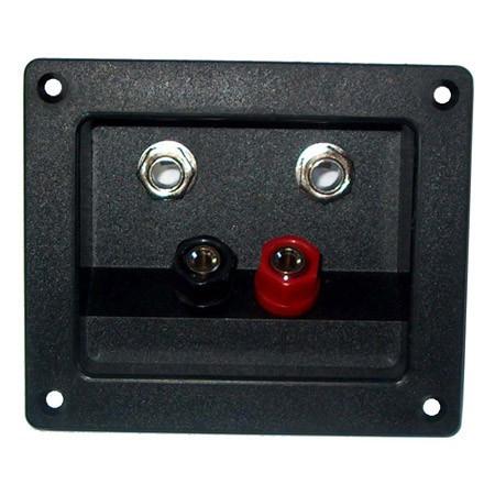CONECTOR BOXA 2 BANANA + 2 JACK