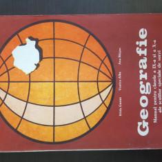 Geografie - manual pentru clasele a IX-X-a ale scolilor speciale de surzi, Clasa 9