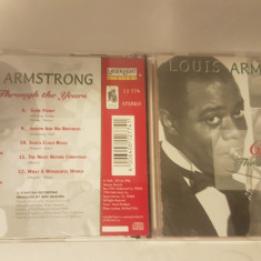 [CDA] Louis Armstrong - Christmas Through The Years -cd audio original