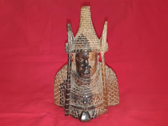 Sculptura veche in lemn Asia