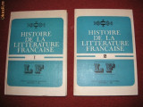 Histoire de la litterature francaise - Angela Ion ( 2 vol. )