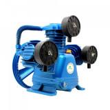 Cumpara ieftin Cap compresor de aer cu 3 pistoane 600l/min 2.2-4kW 10 bari H3065 Blue B-AC3065 BLUE