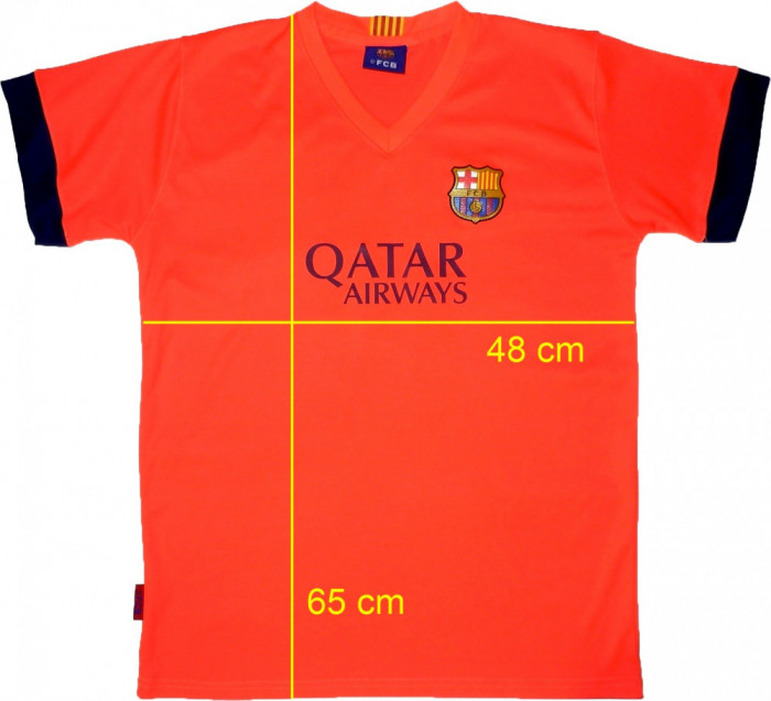 Tricou fotbal FCB BARCELONA MESSI 10 original (barbati S) cod-556528