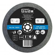 Disc abraziv pentru polizor de banc Guede Gude55531 O175x25x32 mm K60