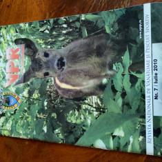 Revista Almanah Vanatorul si Pescarul roman AGVPS Nr7 Iulie 2010