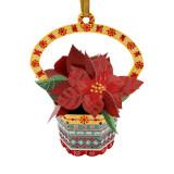 Ornament de brad Craciun Santoro Baubles Craciunita