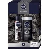 Nivea Men Active Clean set cadou (pentru barbati)